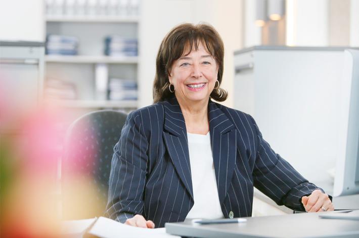 Gerda Heckermann, aus dem Team der Rechtsanwälte GRAUE VISSER LIETKE aus Duisburg